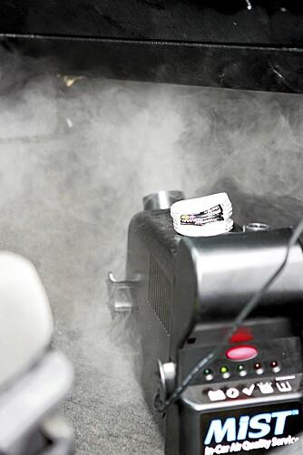DAMPBAD FOR BILEN: MIST, Mobile Interior Sonic Treatment, er et rensesystem for bilens aircondition-, ventilasjonsanlegg og kupé.