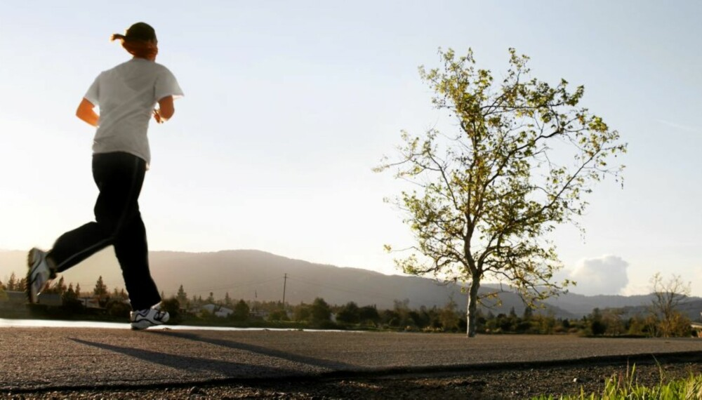 MORSOMMERE Å TRENE: Taster du inn tiden du brukte etter hver trening, kan du enkelt følge din egen fremgang.