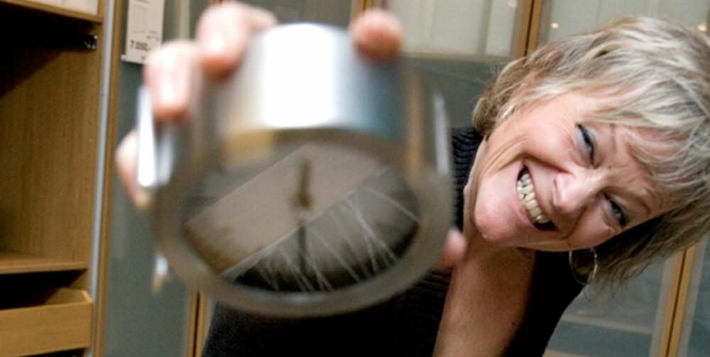 KAMP MOT KLOKKA: B-samfunnets leder Anette Ræstad mener en time eller to ekstra om morgenen hadde gjort underverker.