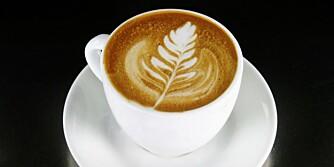 VELG SMART: En kaffe latte med helmelk har tre ganger så mange kalorier som en cappuccino med lettmelk.