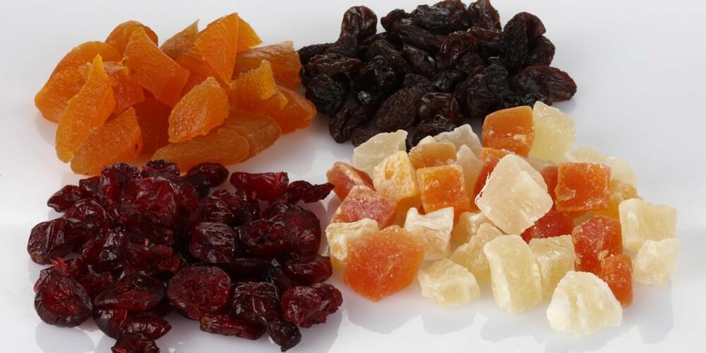 KALORIBOMBE: Tørket aprikos gir over seks ganger så mange kalorier som fersk aprikos.