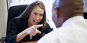 LITE HENSYNSFULL: Det finnes mange mennesketyper på en arbeidsplass, og det er ikke alle som tar hensyn til andre når de brøyter seg fram.