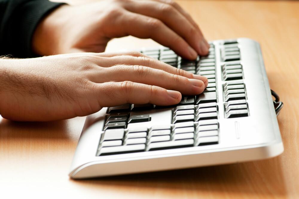 IKKE GLEM TASTATURET: Smitte finnes på en rekke steder, som for eksempel på tastaturet ditt.