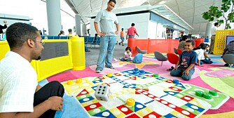 BARNAS BESTE: Hong Kong International Airport ble av passasjerene kåret til verdens beste flyplass både i år og i fjor. Her fra flyplassens lekeområde.