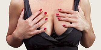 HENGEPUPPER: Grunnen til hengebryst er fordi det er for mye brysthud i forhold til brystkjertel i selve brystet. ILLUSTRASJONSFOTO: Colourbox