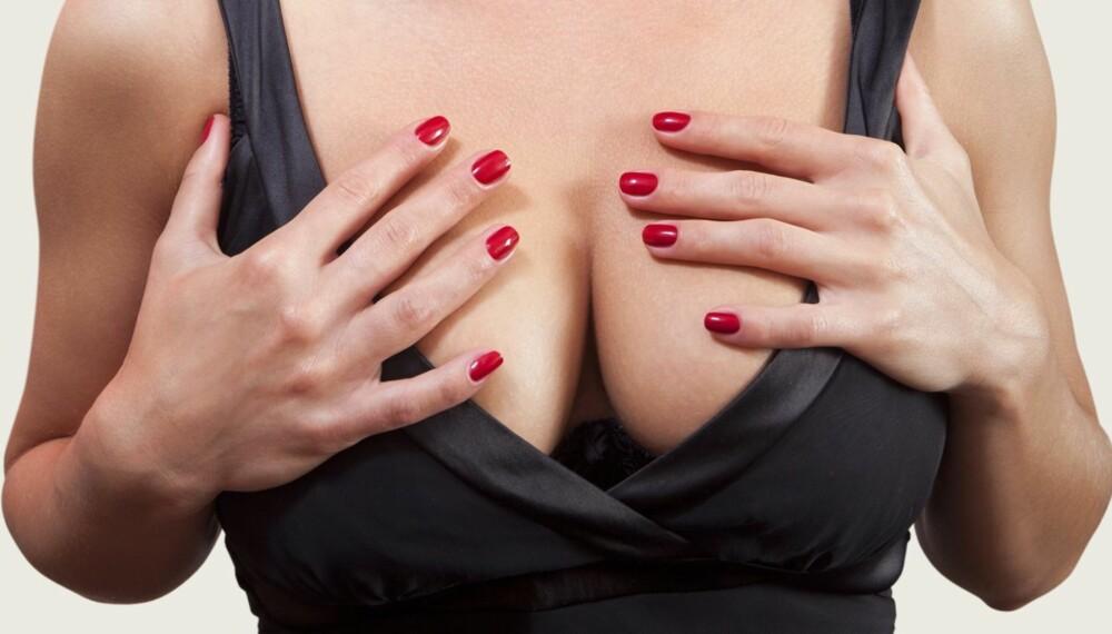 HENGEPUPPER: Hengebryster kan komme allerede i 20-årene dersom du har vært gravid eller har avtatt mye i vekt. ILLUSTRASJONSFOTO: Colourbox.com