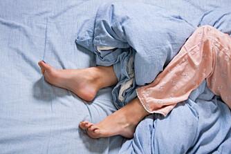 MAUR I BEINA: Mange som sliter med rastløse bein beskriver det som et maurende ubehag.