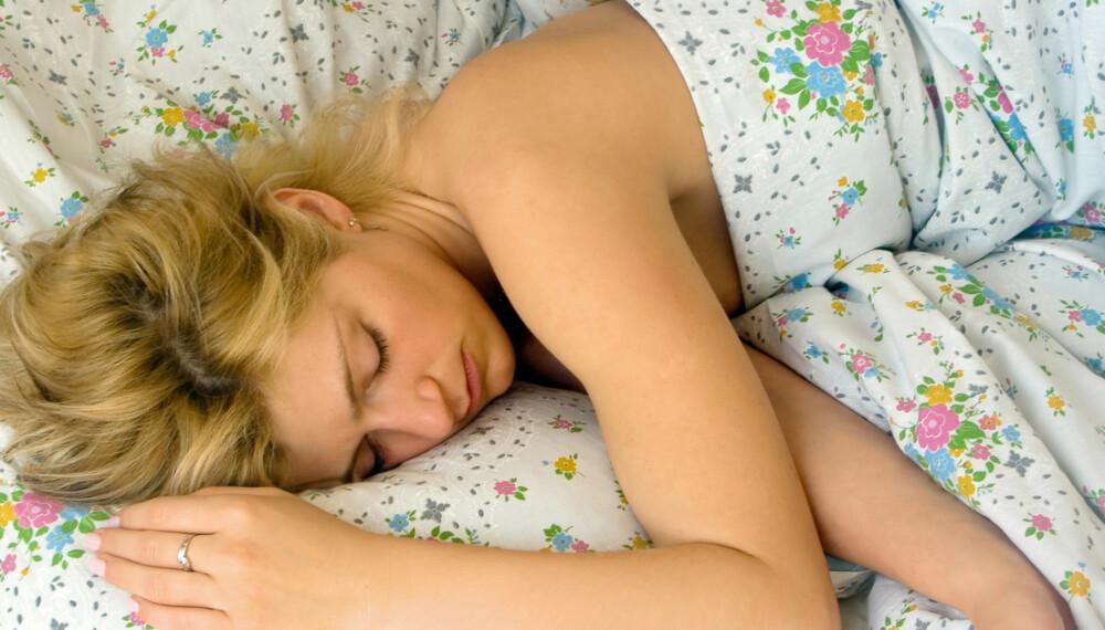 TRØTT I HVERDAGEN?: Ikke sov ut i helgene, råder eksperter. ILLUSTRASJONSFOTO: Colourbox