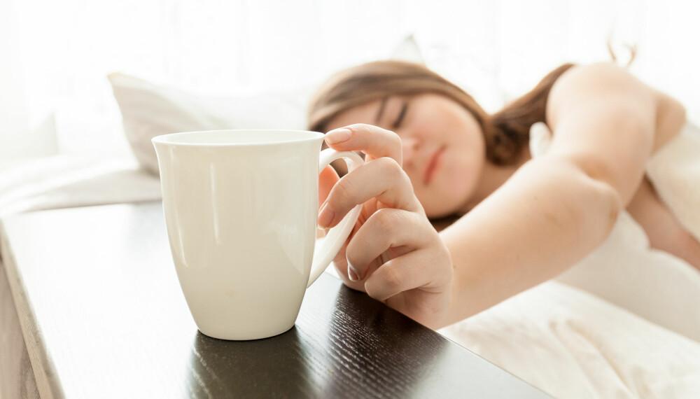 TRØTT: Det er fullt mulig å være stup trøtt selv om du legger deg tidlig og står opp sent.