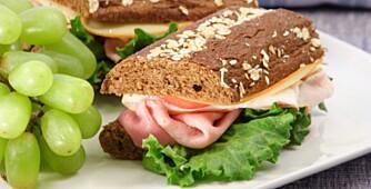 SMART: Spis mat som metter skikkelig, så er det lettere å holde vekten.
