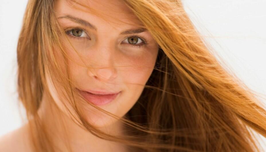 TYNT HÅR TIPS: Du må passe på hodebunnen også, ikke bare håret.