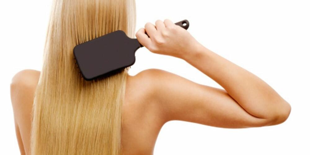 HÅRFIN: Hvilke kvinner vil vel ikke ha et sunt og vakkert hår?