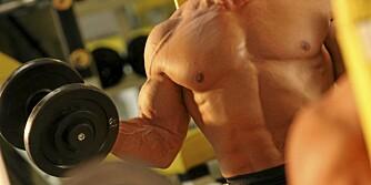 STYRKETRENING: Dersom man aldri utfordrer kroppen vil resultatene utebli.