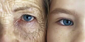 RYNKER: Når du blir eldre mister huden en del av det naturlige fettet og elastisiteten.