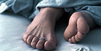 UDELIKAT: Neglsopp rammer mange, særlig menn. Det gir ikke smerte eller ubehag, men det ser ganske udelikat ut.