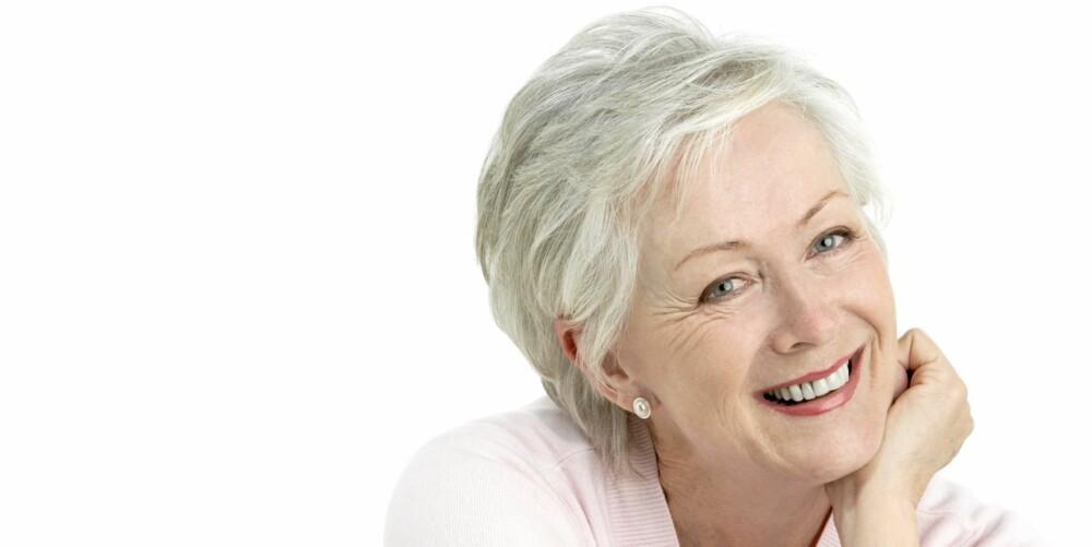 ALDERDOM: De fleste opplever håravfall og dårligere hårkvalitet når de blir eldre.
