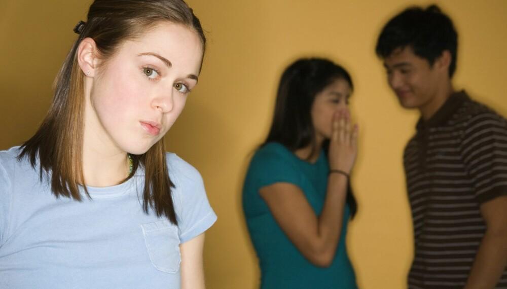 SOSIAL FOBI: En person med sosial fobi opplever sosiale situasjoner som truende, og fokuset er rettet mot å dempe ubehaget som oppstår i kroppen. ILLUSTRASJONSFOTO: Thinkstock