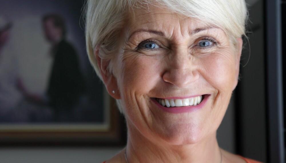 SYK: - Jeg mistet meg selv totalt da jeg ble syk. Treningen har gitt meg livsgleden tilbake, sier Emmy Aanerud (56) til Norsk Ukeblad.