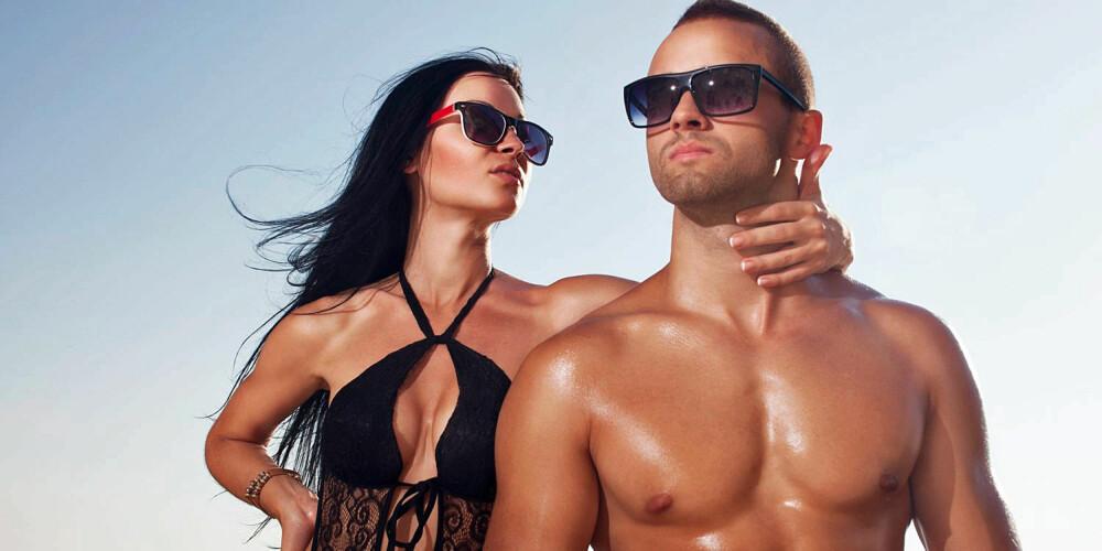 SPREK OG SINGEL: Særlig menn ser ut til å prioritere mer trening etter et samlivsbrudd.