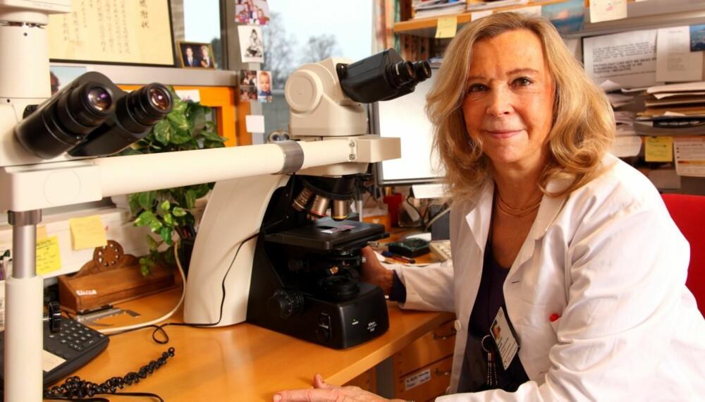 OBDUKSJON: - En obduksjon er en vanlig medisinsk undersøkelse, sier Borghild Roald, Professor MD PhD ved Universitetet i Oslo og seksjonsoverlege ved Avdeling for Patologi på Oslo.