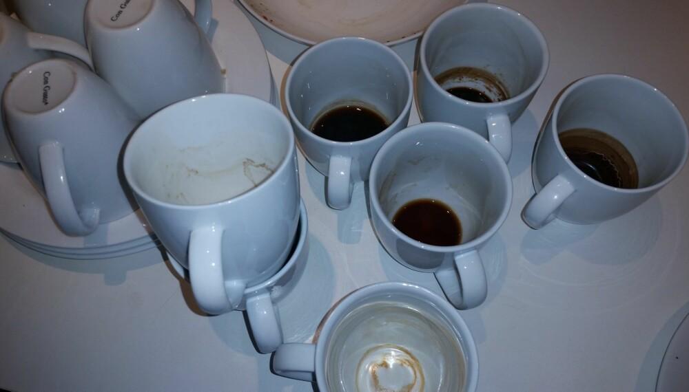 SUNT MED KAFFE: Drikker du kaffe hver dag, har du generelt lavere risiko for å dø enn de som ikke gjør det.