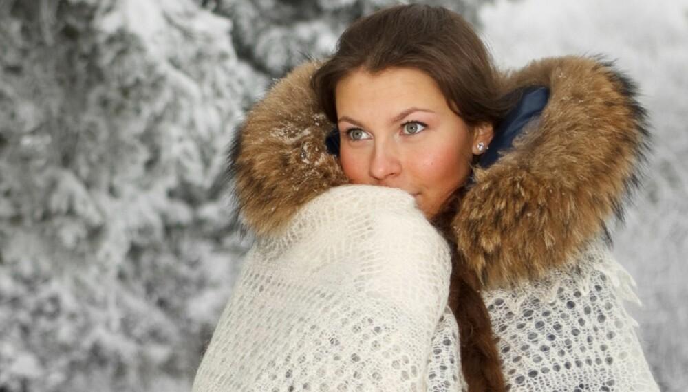 FROSNE KVINNER: Fordi kvinner vanligvis har mindre kroppsvolum enn menn, men et stort overflateareal av hud i forhold til volum, vil de lettere bli kalde, særlig på fingre og føtter.