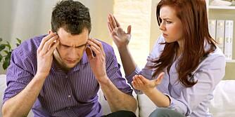 LYTT: Hvis man aktivt lytter til hverandre og er tilstede for hverandre, er det lettere å unngå kjefting og smelling.