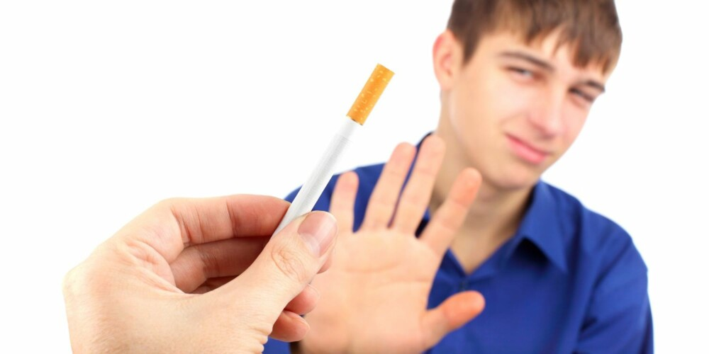 NY ADFERD: Når du skal slutte å røyke, må du starte med å omprogrammere adferden din.