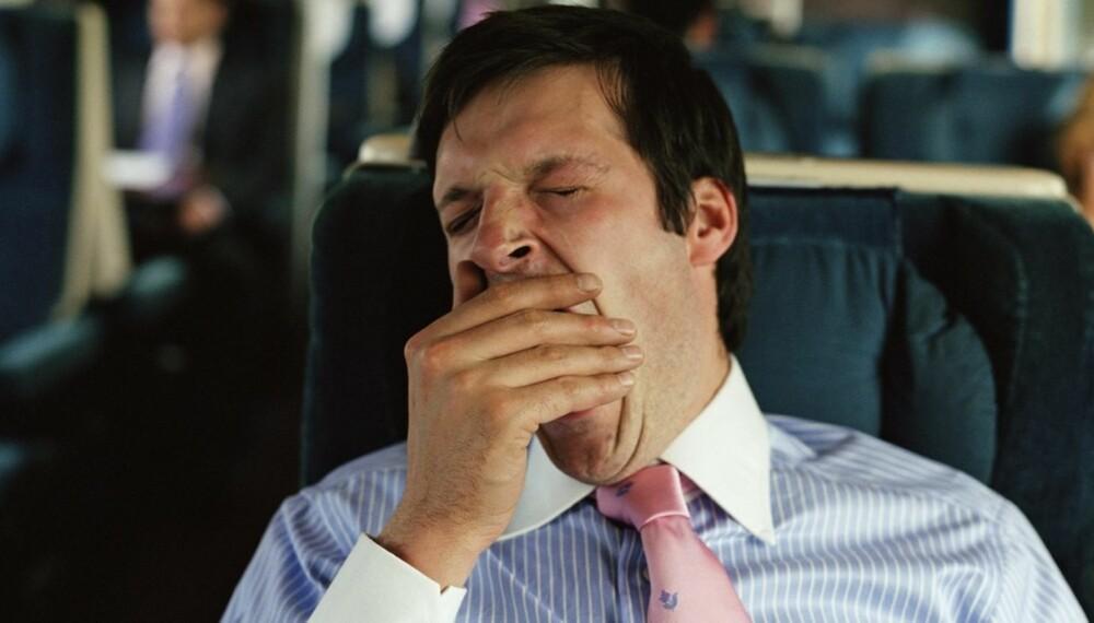 SØVN PÅ FEIL TID: Det å sove på feil tid av døgnet kan føre til flere plager.