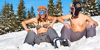 IKKE BARE LUE: Hodeplagget er viktig, men du kommer nok til å fryse i kulden hvis du er altfor lettkledd ellers på kroppen.