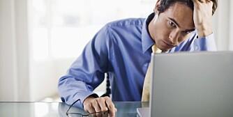 UTBRENT: Lite arbeidsgnist kan bety at du er utbrent. Nok søvn, skogsturer og en god samtalepartner kan være løsningen.