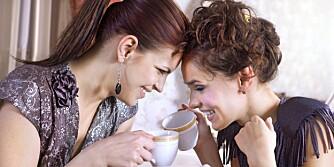 GODE VENNER: Det er viktig med gode venner selv om man er blitt voksen.