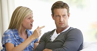 PRATETABBE: - Ofte handler det om at man blir veldig såret, også reagerer man på den såretheten i stedet for på det partneren egentlig sier og kanskje mener, sier psykologiprofessor Frode Thuen.