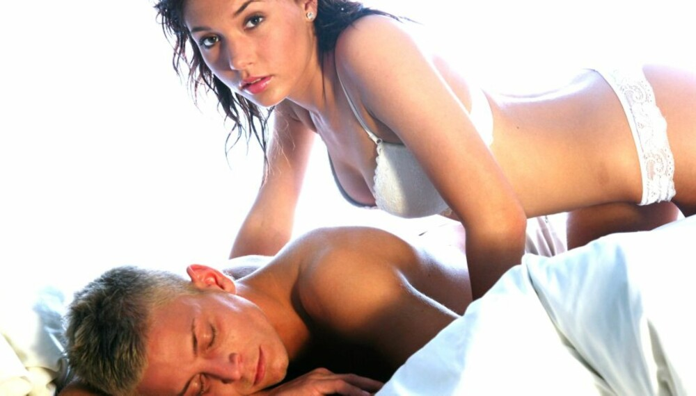 SNAKK OM DET: Å vite hva partneren liker i senga, er ikke alltid like lett. Det beste er å spørre.