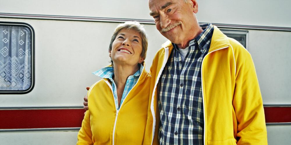 LIKERE: Par som holder sammen gjennom hele livet, blir mer like hverandre når de blir eldre.