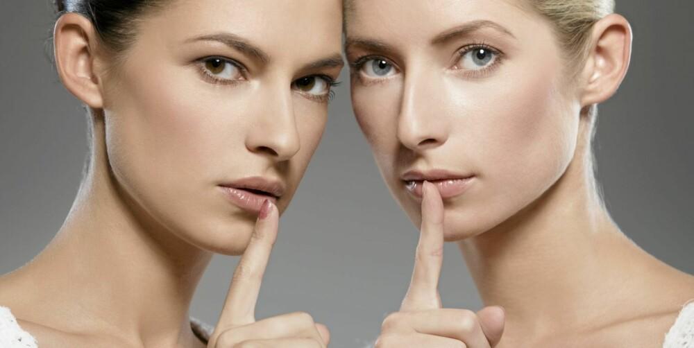HEMMELIG: Vi har også hemmeligheter for oss selv. Vi har alle sider ved oss selv vi ikke er bevisste på, som gjerne er mer iøynefallende for de rundt oss.