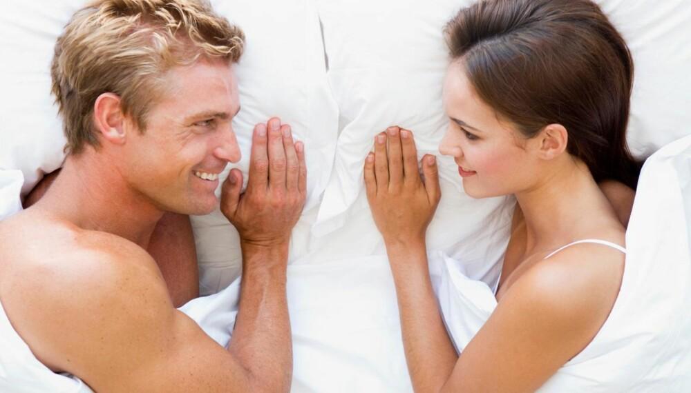 LYKKELIGE SAMMEN: Har du noen gang lurt på hvorfor akkurat dere to ble et par? ILLUSTRASJONSFOTO: Colourbox