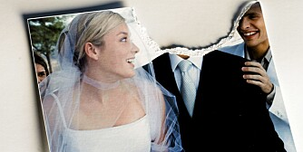 FÅR DET IKKE TIL: I fjor ble det  inngått 24 800 ekteskap i Norge, 10 200 ekteskap endte i skilsmisse og 11 900 par ble separerte.