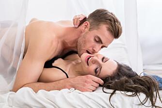 SEX SOM TRENINGSØKT: Ja, du forbrenner kalorier når du har sex. ILLUSTRASJONSFOTO: Colourbox