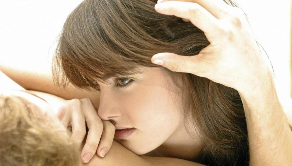 HEMMELIG: Noen kvinner synes det er flaut å fortelle hva de tenner på.