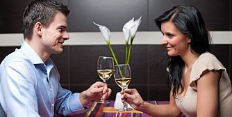 VELLYKKET: Det er lett å tabbe seg ut på date. Vil du at daten skal bli vellykket, kan det lønne seg å unngå de verste fellene.