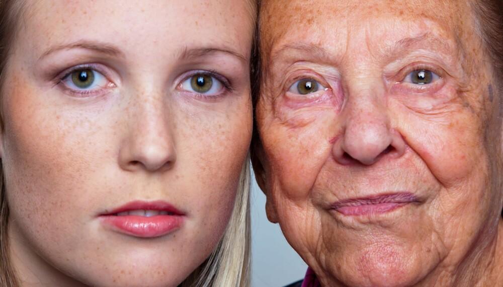 SOM MOR: Sjekk med din mor hvordan hennes overgangsalder var. Ofte vil din bli ganske lik.  Illustrasjonsfoto: Colourbox