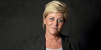 UTAKK: At det blåser på toppen, vet Siv Jensen (41) godt. Og hun liker det!