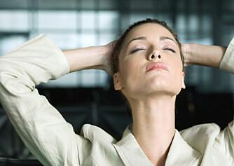 STRESS NED: Hverdagsstress er ikke farlig. Det er dersom du er uavbrudt stresset over lengre tid – gjerne måneder og år – at det virkelig blir et problem. ILLUSTRASJONSFOTO: Colourbox