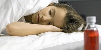 KYSSESYKEN: I starten på kyssesyke vil man oppleve influensalignende symptomer.