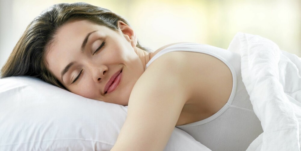 SØVN: Det er lettere å håndtere stress og motgang når du er uthvilt.