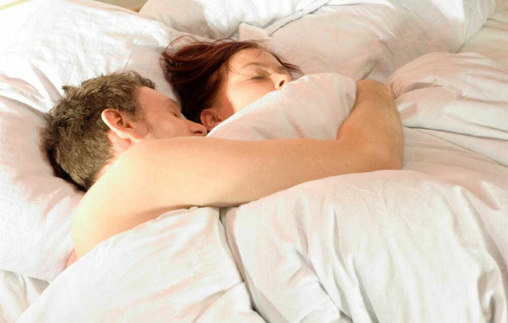 SKJØNNHETSSØVN: Godt ventilerte, tørre rom og rent sengetøy kan være alfa og omega for å få en god natts søvn.