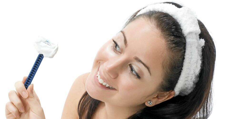BART: Det er heldigvis mange løsninger for å fjerne uønsket hårvekst i ansiktet. Vil du gjøre det på egenhånd er høvel en mulighet.