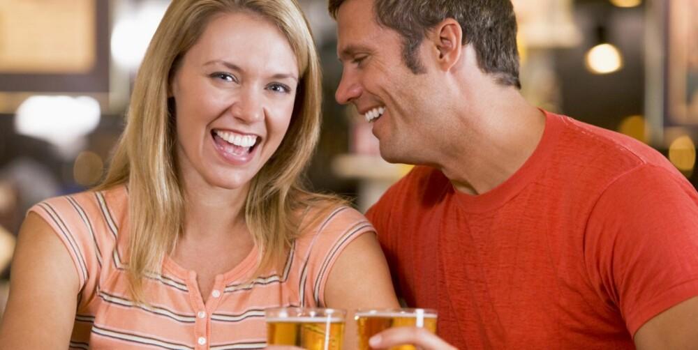 DATING: Det er ingen grunn til å gjøre dating forpliktende, for datingen skal ikke være en kjærestejakt.