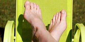 FOTSVETTE: Bytt sokker og varier hvilke sko du bruker, råder ekspertene. ILLUSTRASJONSFOTO: Colourbox
